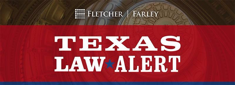 Texas Law Alert Header